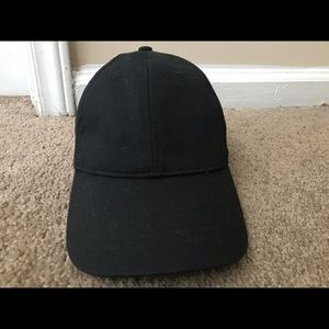 All Black Baseball Cap